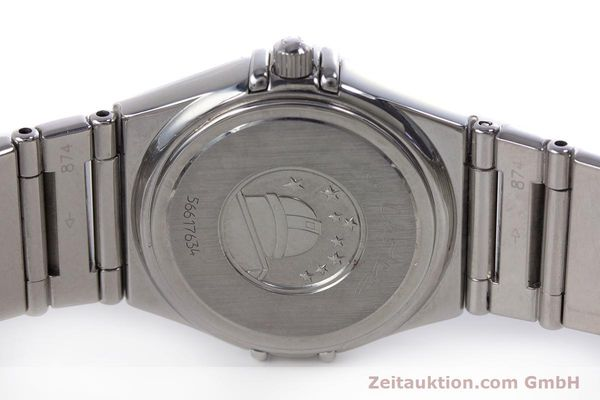 Used luxury watch Omega Constellation steel quartz Kal. 1456 ETA 976001  | 160060 09