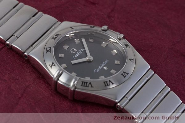 Used luxury watch Omega Constellation steel quartz Kal. 1456 ETA 976001  | 160060 13
