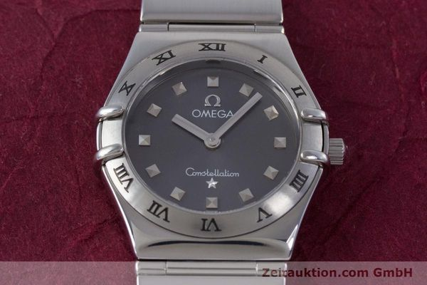 Used luxury watch Omega Constellation steel quartz Kal. 1456 ETA 976001  | 160060 14