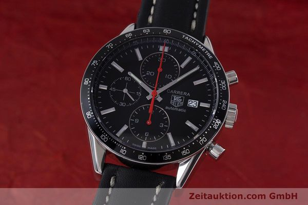TAG HEUER CARRERA CHRONOGRAPH AUTOMATIK HERRENUHR STAHL CAL 16 NP: 4100,- EUR [160081]