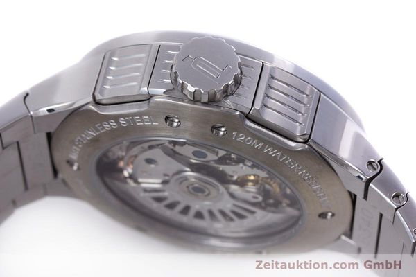 Used luxury watch Porsche Design Flat Six chronograph steel automatic Kal. ETA 7750 Ref. P6340  | 160096 08