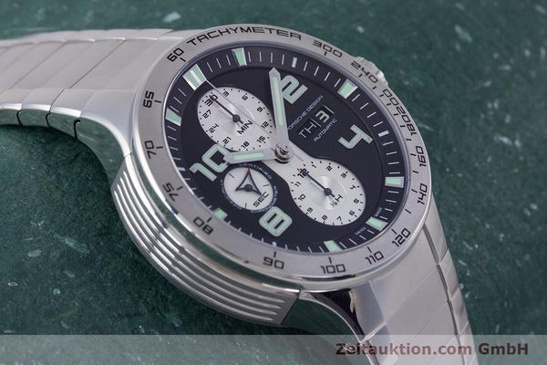 Used luxury watch Porsche Design Flat Six chronograph steel automatic Kal. ETA 7750 Ref. P6340  | 160096 13