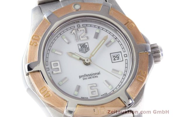 Used luxury watch Tag Heuer Professional steel / gold quartz Kal. 2.98 ETA 956112  | 160099 02