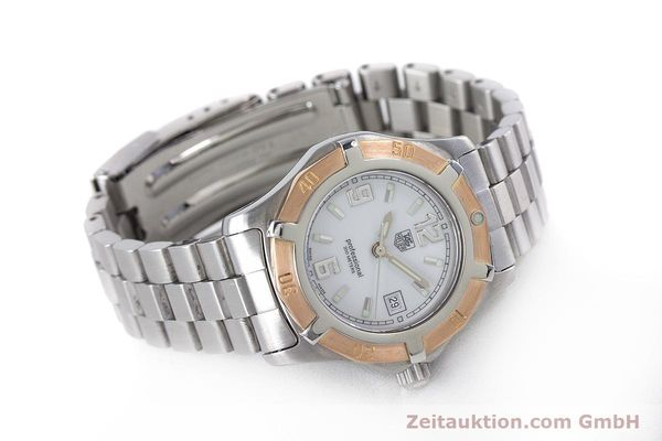 Used luxury watch Tag Heuer Professional steel / gold quartz Kal. 2.98 ETA 956112  | 160099 03