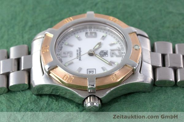 Used luxury watch Tag Heuer Professional steel / gold quartz Kal. 2.98 ETA 956112  | 160099 05