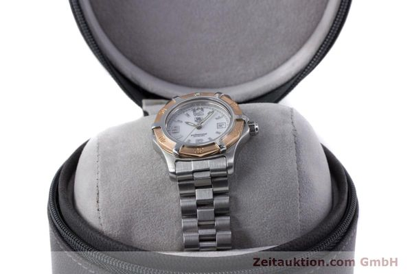 Used luxury watch Tag Heuer Professional steel / gold quartz Kal. 2.98 ETA 956112  | 160099 07