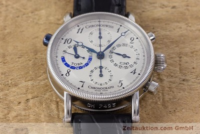 CHRONOSWISS TORA CHRONOGRAPH STEEL AUTOMATIC KAL. 743 LP: 6800EUR [160100]
