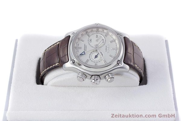 Used luxury watch Ebel 1911 steel automatic Kal. 240 Ref. E9240L70  | 160105 07