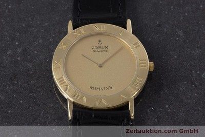 CORUM ROMULUS OR 18 CT QUARTZ KAL. ETA 210.001 [160106]