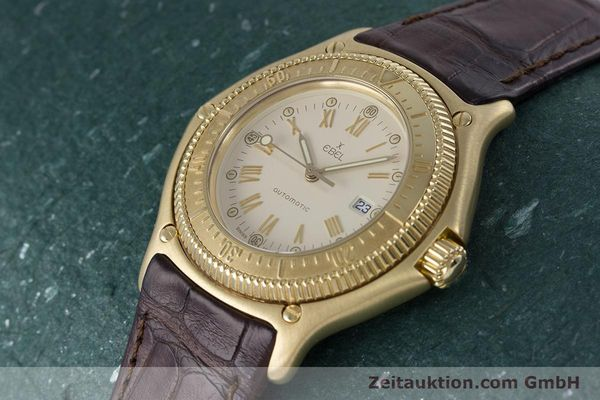 Used luxury watch Ebel Discovery 18 ct gold automatic Kal. 93 Ref. 893913  | 160113 01