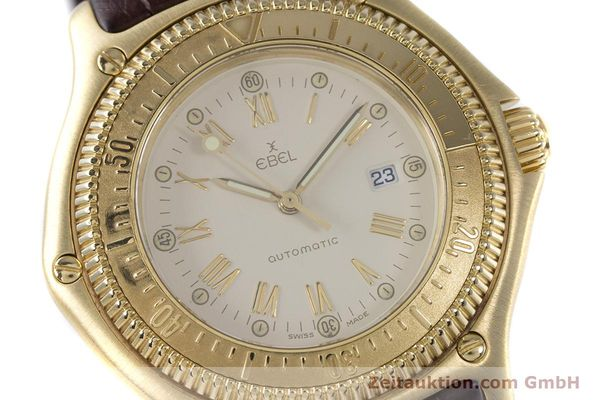 Used luxury watch Ebel Discovery 18 ct gold automatic Kal. 93 Ref. 893913  | 160113 02