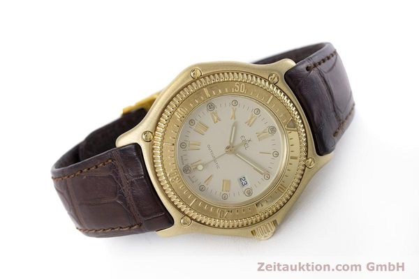 Used luxury watch Ebel Discovery 18 ct gold automatic Kal. 93 Ref. 893913  | 160113 03