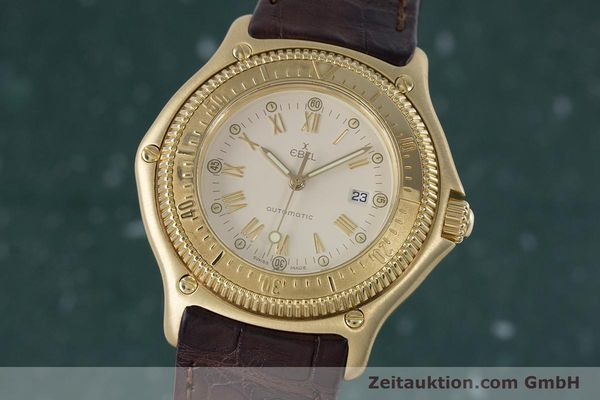 Used luxury watch Ebel Discovery 18 ct gold automatic Kal. 93 Ref. 893913  | 160113 04