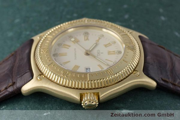 Used luxury watch Ebel Discovery 18 ct gold automatic Kal. 93 Ref. 893913  | 160113 05