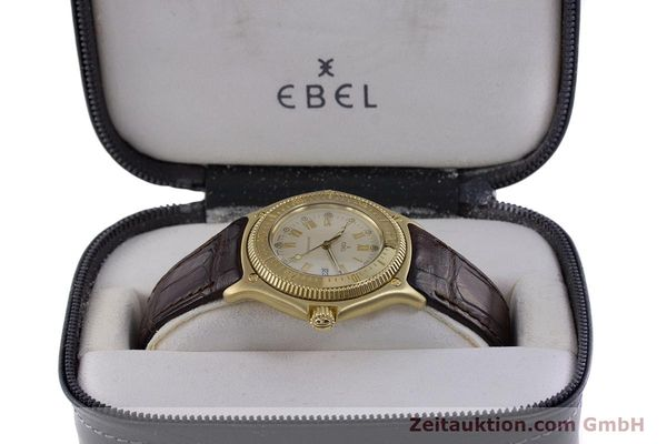 Used luxury watch Ebel Discovery 18 ct gold automatic Kal. 93 Ref. 893913  | 160113 07