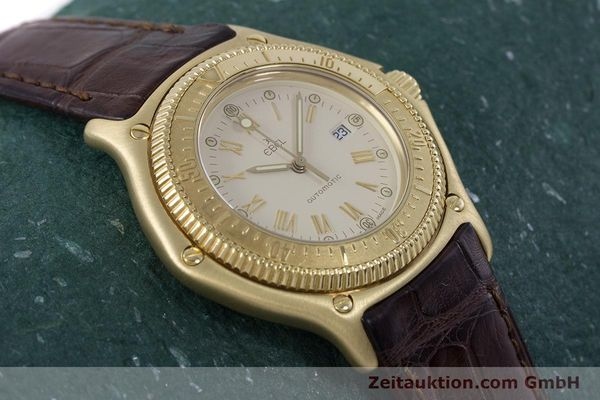 Used luxury watch Ebel Discovery 18 ct gold automatic Kal. 93 Ref. 893913  | 160113 16