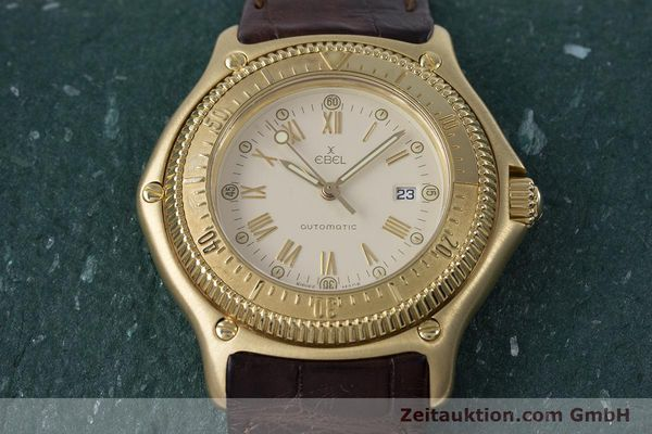 Used luxury watch Ebel Discovery 18 ct gold automatic Kal. 93 Ref. 893913  | 160113 17