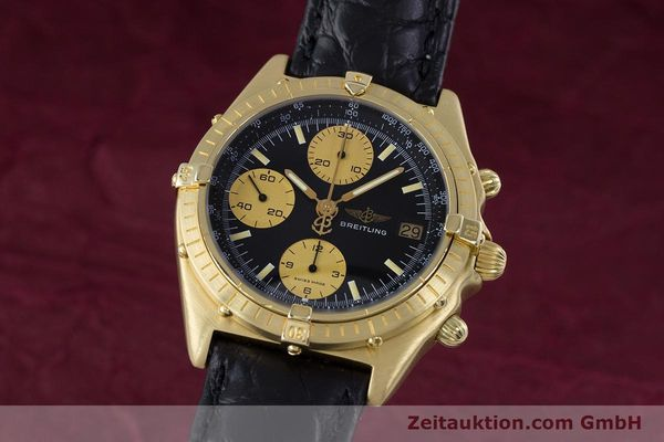 BREITLING CHRONOMAT CHRONOGRAPHE OR 18 CT AUTOMATIQUE KAL. VALJ. 7750 LP: 23030EUR [160116]