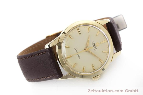 Used luxury watch Omega Seamaster 14 ct yellow gold automatic Kal. 591 VINTAGE  | 160125 03