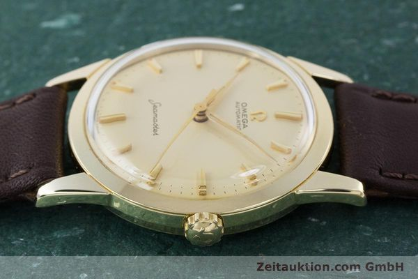 Used luxury watch Omega Seamaster 14 ct yellow gold automatic Kal. 591 VINTAGE  | 160125 05