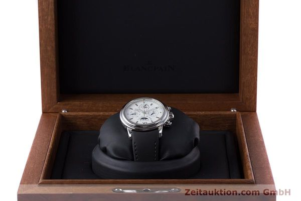 Used luxury watch Blancpain Perpetual Calendar chronograph steel automatic Kal. 5585  | 160128 07