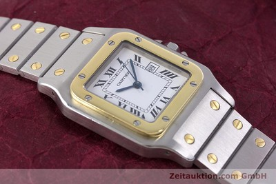 CARTIER SANTOS STEEL / GOLD AUTOMATIC KAL. ETA 2671 LP: 7100EUR [160129]