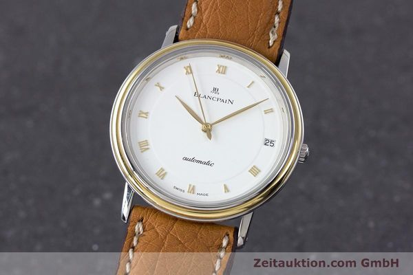 Used luxury watch Blancpain Villeret steel / gold automatic Kal. 9513  | 160132 04