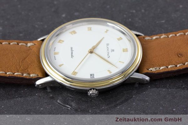 Used luxury watch Blancpain Villeret steel / gold automatic Kal. 9513  | 160132 05