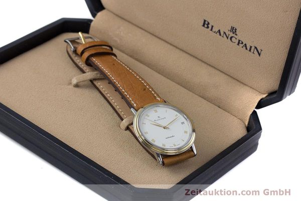 Used luxury watch Blancpain Villeret steel / gold automatic Kal. 9513  | 160132 07