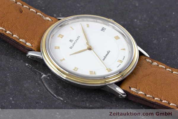 Used luxury watch Blancpain Villeret steel / gold automatic Kal. 9513  | 160132 15