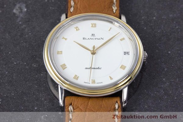 Used luxury watch Blancpain Villeret steel / gold automatic Kal. 9513  | 160132 16
