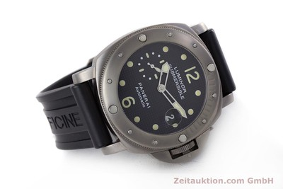 PANERAI LUMINOR SUBMERSIBLE TITAN AUTOMATIK HERRENUHR PAM00025 LP: 6600,- EURO [160140]