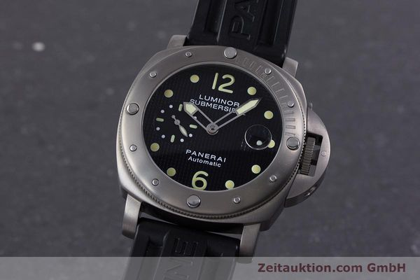 PANERAI LUMINOR SUBMERSIBLE TITANIUM AUTOMATIC KAL. ETA A05511 LP: 6600EUR [160140]