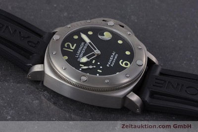 PANERAI LUMINOR SUBMERSIBLE TITANE AUTOMATIQUE KAL. ETA A05511 LP: 6600EUR [160140]