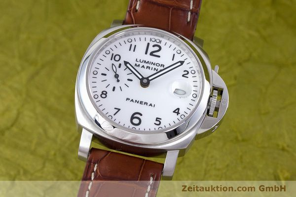 PANERAI LUMINOR MARINA ACIER AUTOMATIQUE KAL. ETA A05511 LP: 5900EUR  [160145]