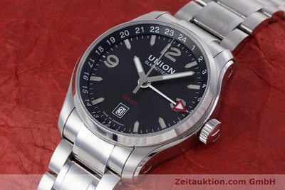 UNION GLASHÜTTE BELISAR STEEL AUTOMATIC KAL. U2893-2 LP: 1580EUR [160152]