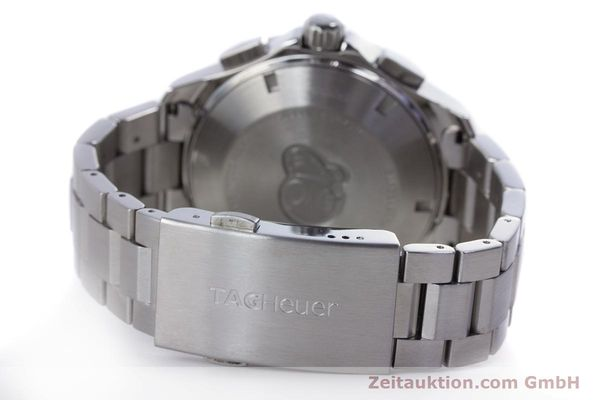 Used luxury watch Tag Heuer Aquaracer chronograph steel automatic Kal. 16 ETA 7750 Ref. CAP2110  | 160160 11