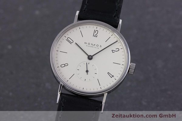 NOMOS TANGENTE STEEL MANUAL WINDING KAL. ETA 7001 LP: 1380EUR [160163]
