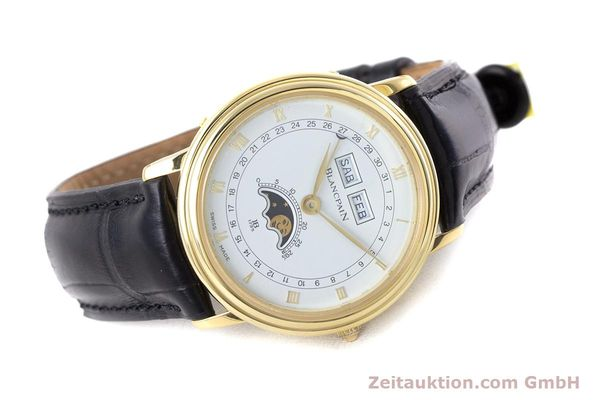 Used luxury watch Blancpain Villeret 18 ct gold manual winding Kal. 64 Peseux 7001  | 160166 03