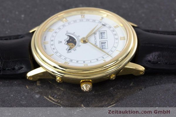 Used luxury watch Blancpain Villeret 18 ct gold manual winding Kal. 64 Peseux 7001  | 160166 05