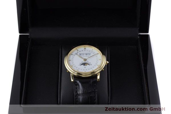 Used luxury watch Blancpain Villeret 18 ct gold manual winding Kal. 64 Peseux 7001  | 160166 07