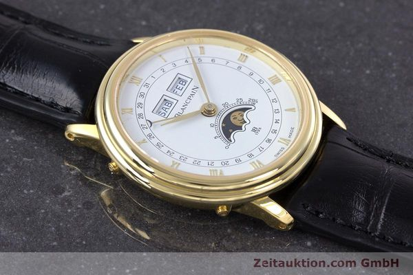 Used luxury watch Blancpain Villeret 18 ct gold manual winding Kal. 64 Peseux 7001  | 160166 15
