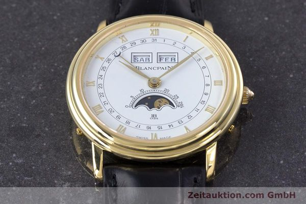 Used luxury watch Blancpain Villeret 18 ct gold manual winding Kal. 64 Peseux 7001  | 160166 16
