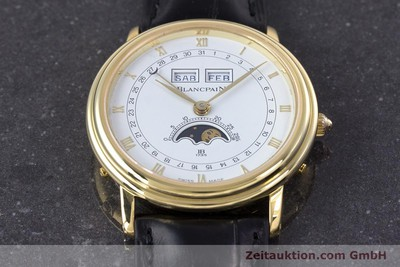 BLANCPAIN VILLERET 18 CT GOLD MANUAL WINDING KAL. 64 PESEUX 7001 LP: 20210EUR [160166]