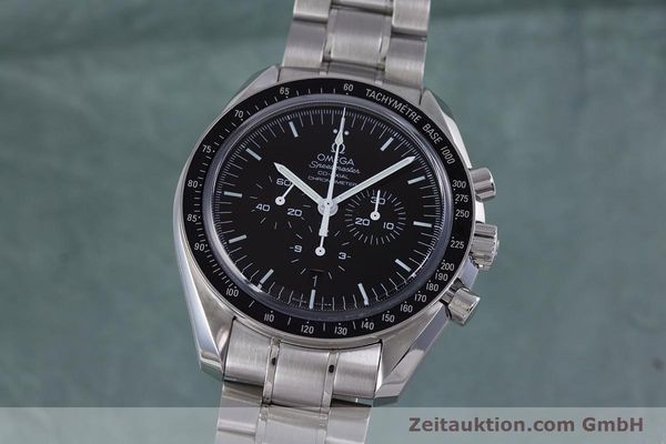 OMEGA SPEEDMASTER MOONWATCH CO-AXIAL CHRONOGRAPH AUTOMATIK GLASBODEN NP: 5160,-Euro [160172]