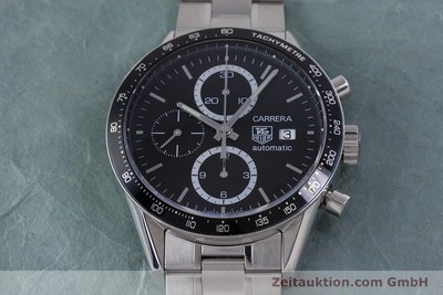 TAG HEUER CARRERA CHRONOGRAPH STEEL AUTOMATIC KAL. TH 16 ETA 7750 LP: 3550EUR [160192]