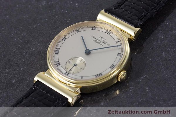Used luxury watch IWC * 18 ct gold manual winding Kal. 88 LIMITED EDITION | 160198 01