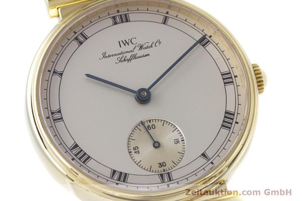 Used luxury watch IWC * 18 ct gold manual winding Kal. 88 LIMITED EDITION | 160198 02