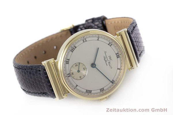 Used luxury watch IWC * 18 ct gold manual winding Kal. 88 LIMITED EDITION | 160198 03
