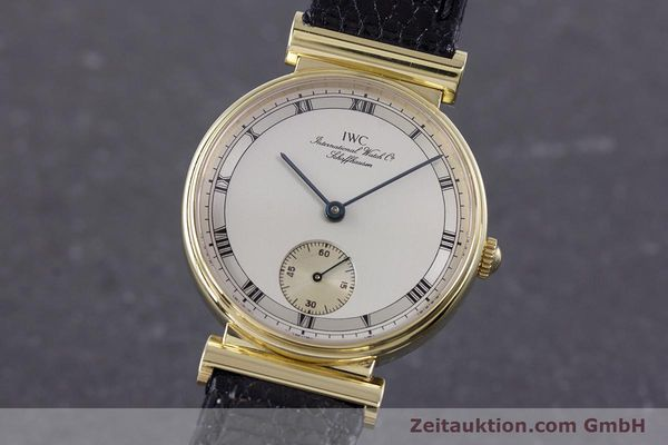 IWC ORO DE 18 QUILATES CUERDA MANUAL KAL. 88  [160198]